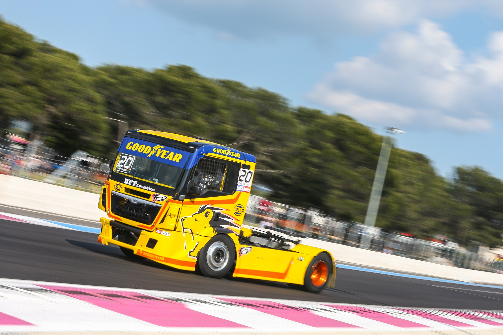 The FIA European Truck Racing Championship starts on Goodyear tyres